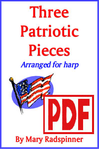 Three Patriotic Pieces by Mary Radspinner <span class='red'>PDF Download</span>
