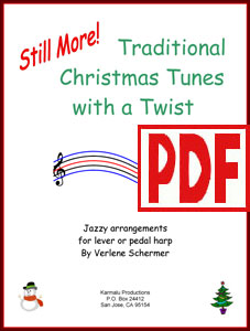 Still More! Traditional Christmas Tunes with a Twist by Verlene Schermer <span class='red'>PDF Download</span>