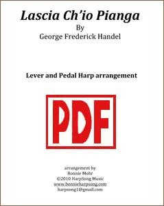 Lascia Ch'io Pianga arranged by Bonnie Mohr <span class='red'>PDF Download</span>