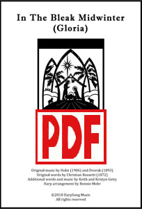 In the Bleak Midwinter for harp ensemble by Bonnie Mohr PDF Downloads