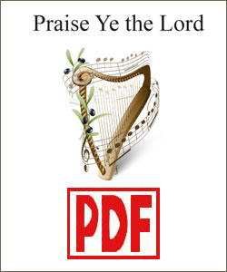 Praise Ye the Lord by Pam Ohms <span class='red'>PDF Download</span>