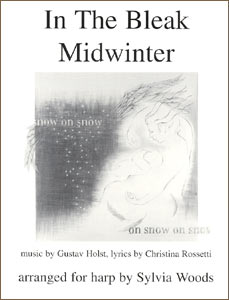 In the Bleak Midwinter sheet music by Sylvia Woods
