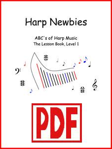 Harp Newbies Level 1 series by Verlene Schermer <span class='red'>PDF Downloads</span>