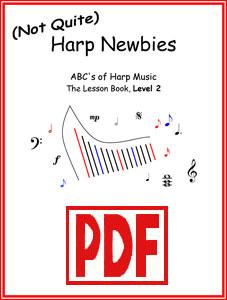 (Not Quite) Harp Newbies Level 2 series by Verlene Schermer <span class='red'>PDF Downloads</span>