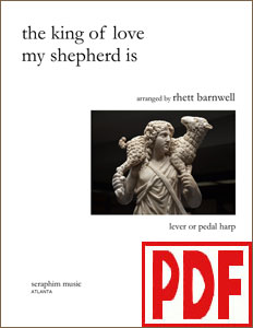 The King of Love My Shepherd Is by Rhett Barnwell <span class='red'>PDF Download</span>