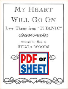 My Heart Will Go On from <i>Titanic</i> aranged by Sylvia Woods