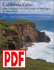 California Celtic by Diana Stork: solo, duet, and other instruments <span class='red'>PDF Download</span>