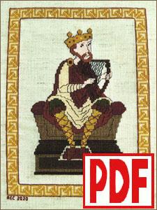 Royal Harper Cross-Stitch <span class='red'>PDF PATTERN</span>