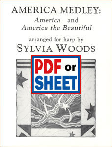 America Medley: America and America the Beautiful arranged by Sylvia Woods