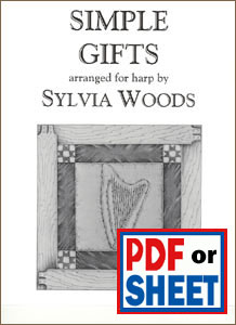 Simple Gifts arranged by Sylvia Woods