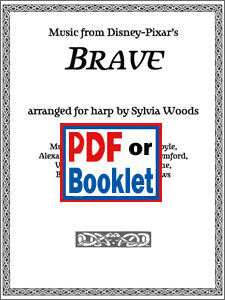 Brave selections from the Disney-Pixar movie arranged by Sylvia Woods