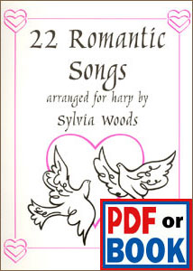 22 Romantic Songs arranged by Sylvia Woods