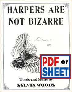 Harpers Are Not Bizarre by Sylvia Woods