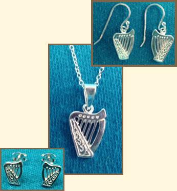 Brian Boru Sterling Silver Jewelry