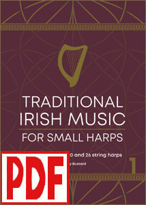 Traditional Irish Music for Small Harps (20 to 26 strings) by Katy Bustard <span class='red'> PDF Download </span>