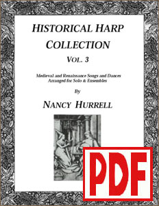 Historical Harp Collection #3 by Nancy Hurrell - PDF Download