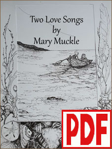 Two Love Songs by Mary Muckle <span class='red'>PDF Download</span>
