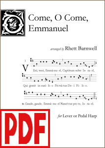 O Come, O Come, Emmanuel by Rhett Barnwell <span class='red'>PDF Download</span>