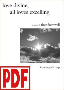 Love Divine, All Loves Excelling (Hyfrydol) by Rhett Barnwell PDF Download