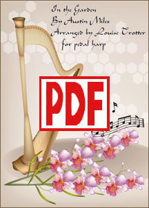In the Garden for pedal harp by Louise Trotter <span class='red'>PDF Download</span>