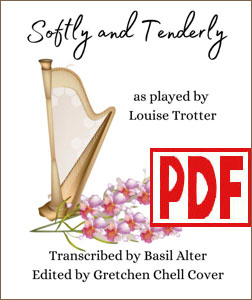 Softly and Tenderly for pedal harp by Louise Trotter PDF Download