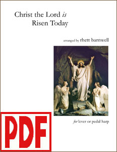 Christ the Lord is Risen Today arranged by Rhett Barnwell <span class='red'>PDF Download</span>