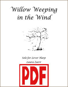 Willow Weeping in the Wind by Laura Zaerr <span class='red'>PDF Download</span>