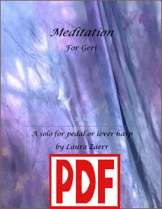 Meditation for Geri by Laura Zaerr <span class='red'>PDF Download</span>