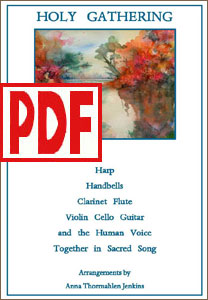 Holy Gathering for harp and other instruments by Anna Thormahlen Jenkins PDF Download