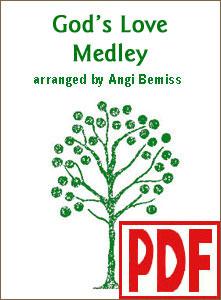 God's Love Medley by Angi Bemiss  PDF Download
