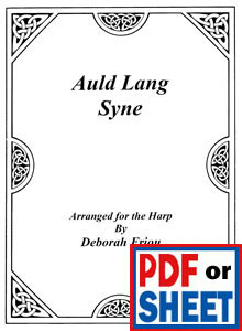 Auld Lang Syne arranged  by Deborah Friou