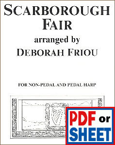 Scarborough Fair arranged by Deborah Friou