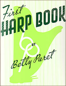 First Harp Book by Betty Paret