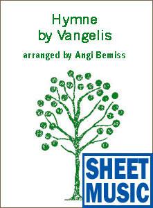 Hymne by Vangelis Sheet Music arranged by Angi Bemiss