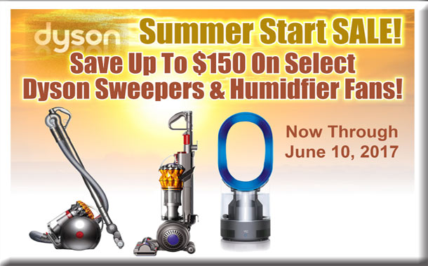 Dyson Summer Sale