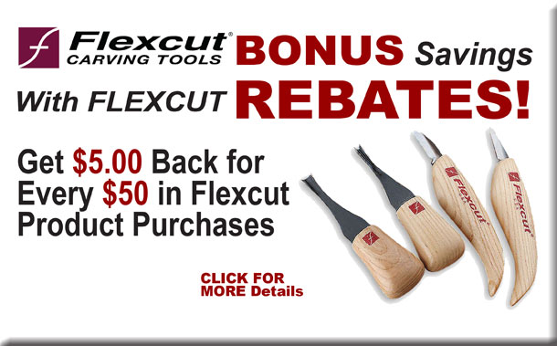 Flexcut Carving Tools Rebate