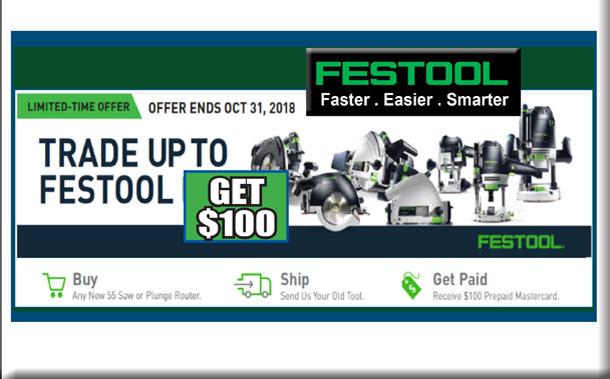 Trade-Up to Festool Promo