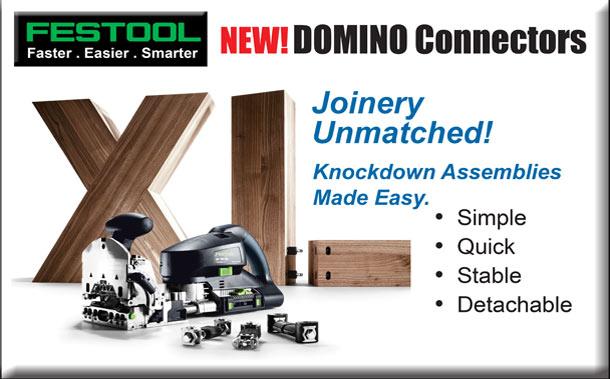 New Festool Domino Connectors