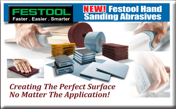 New Festool Abrasives