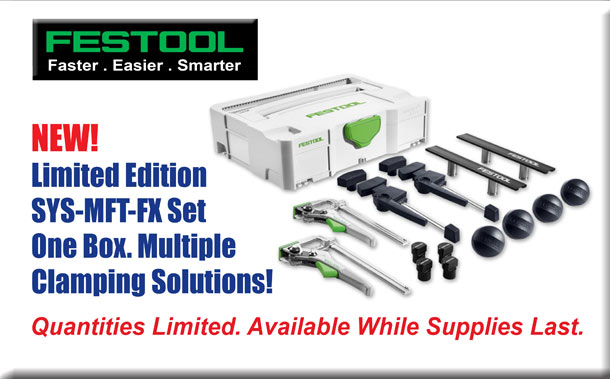 New Festool SYS-MFT-FX Set