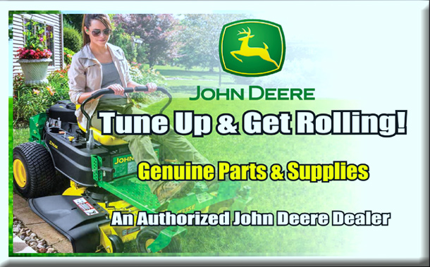 John Deere Tune Up & Get Rolling!