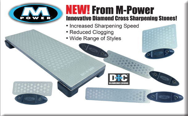 M-Power Diamond Cross Sharpening Stones