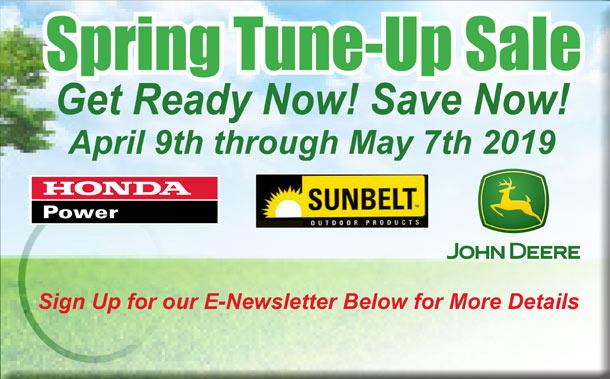 John Deere Spring Tune Up Sale