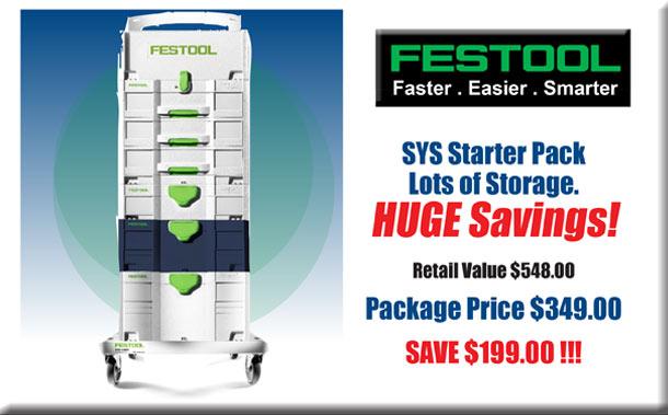 Festool SYS Starter Pack