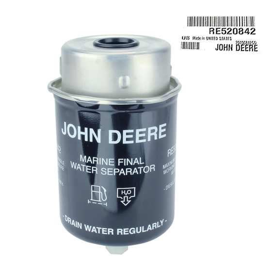 John Deere #RE520842 Fuel Filter Water Separator