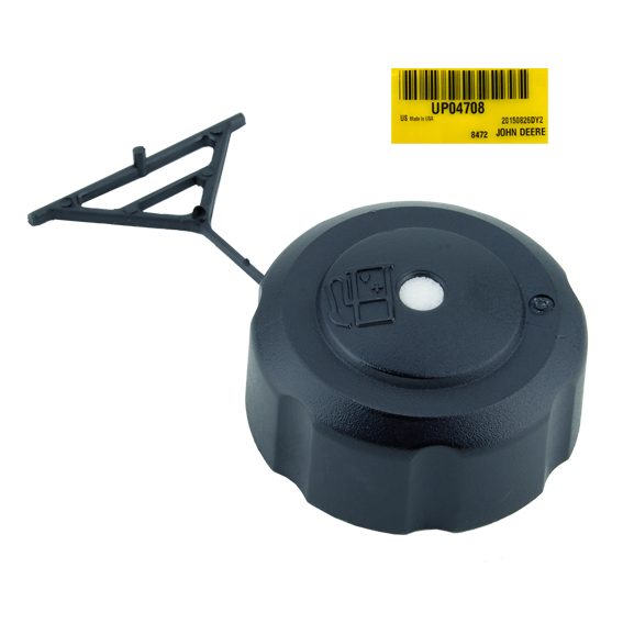 JOHN DEERE #UP04708 FUEL TANK FILLER CAP