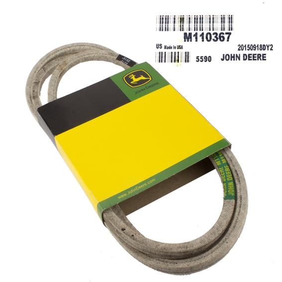 JOHN DEERE #M110367 V-BELT