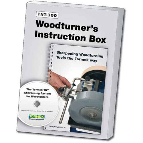 Tormek #TNT-300 Turner's Instruction Box