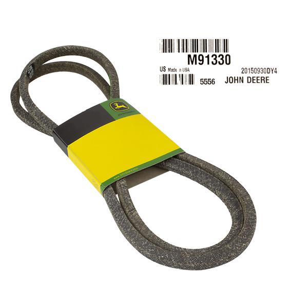 JOHN DEERE #M91330 V-BELT
