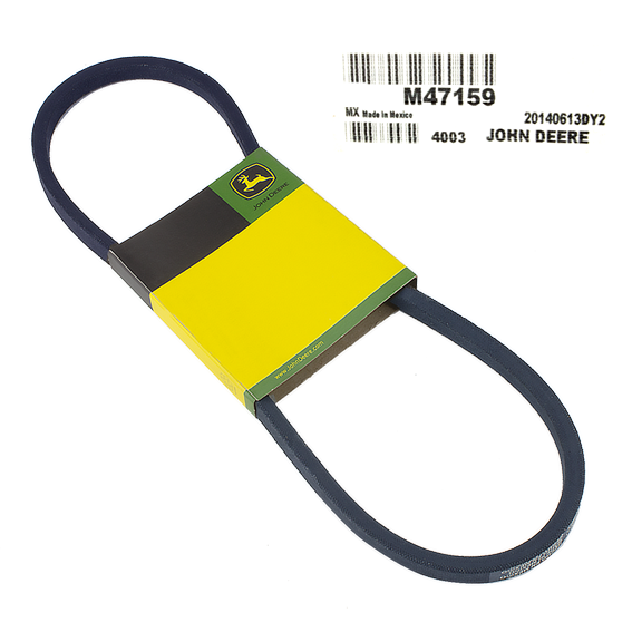 JOHN DEERE #M47159 DRIVE V-BELT